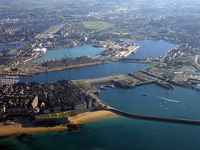 St Malo Ferry Port